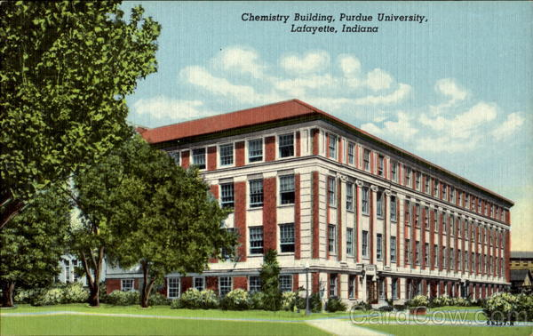 Chemistry Building, Purdue University Lafayette Indiana