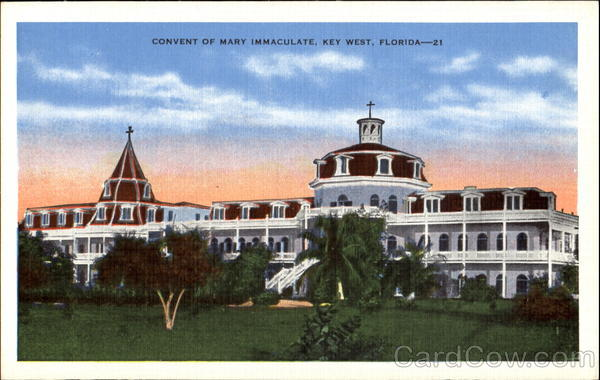 Convent Of Mary Immaculate Key West Florida
