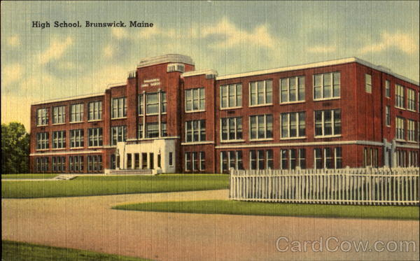 High School Brunswick Maine