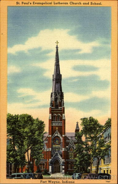 St. Paul's Evangelical Lutheran Church And School Fort Wayne Indiana