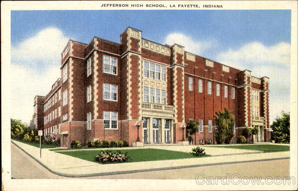 Jefferson High School La Fayette Indiana