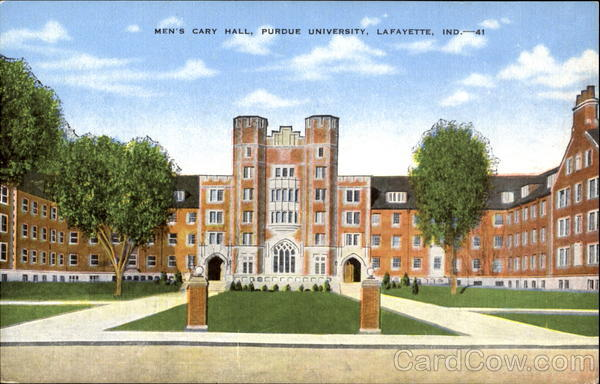 Men's Cary Hall, Purdue University Lafayette Indiana