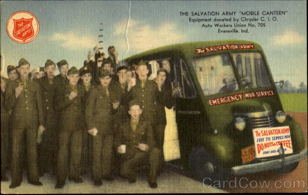 The Salvation Army Mobile Canteen Evansville Indiana