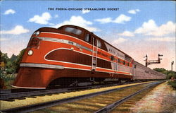 The Peoria - Chicago streamlined rocket