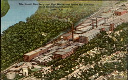 The Lanett Bleachery And Dye Works And Lanett Mill Division