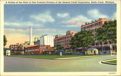 A Portion Of The Plant Of Post Products Division Of The General Foods Corporation