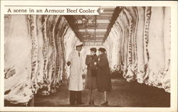 A Scene In An Armour Beef Cooler