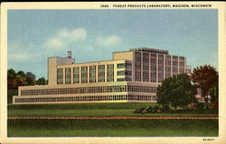 Forest Products Laboratory Postcard
