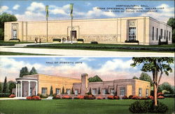 Horticultural Hall And Hall Of Domestic Arts Postcard