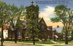 Good Hope Lutheran Church, W. First and Petroleum Sts.