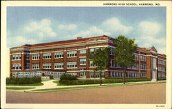 Hammond High School Postcard
