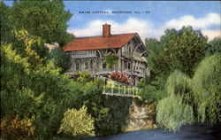 Swiss Cottage Postcard