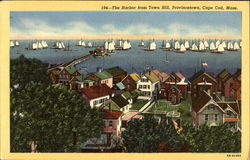 The Harbor From Town Hill, Provincetown