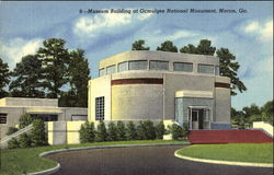 Museum Building At Ocmulgee National Monument