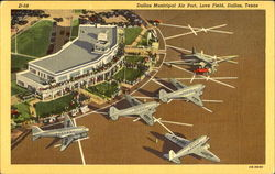 Dallas Municipal Air Port, Love Field Postcard