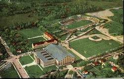 Aerial View Of Athletic Department, Purdue University