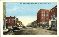 Main Street Showing Murray Bldg, At Right