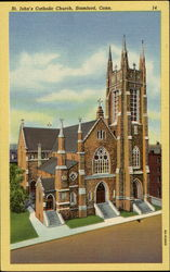 St. John's Catholic Church Postcard