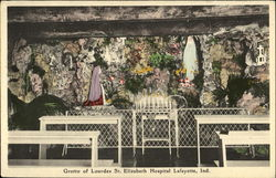 Grotto Of Lourdes St. Elizabeth Hospital