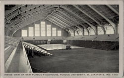 Inside View Of New Purdue Fieldhouse, Purdue University