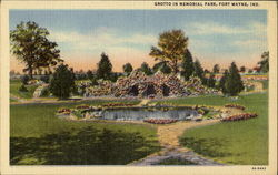 Grotto In Memorial Park