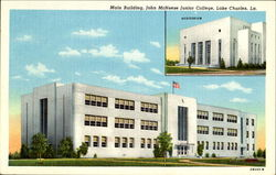 Main Building, John McNeese Junior College