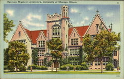 Ryerson Physical Laboratory, University Of Chicago Postcard