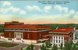 New Hall Of Music And Executive Building, Purdue University