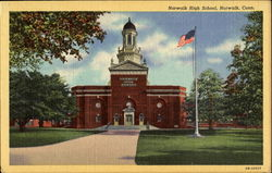 Norwalk High School Postcard