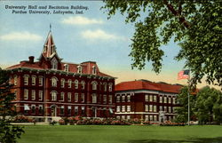 University Hall And Recitation Building, Purdue University