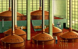 Brewing Hall Anheuser Busch Inc
