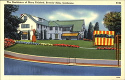 The Residence Of Mary Pickford