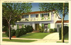 Home Of John Boles Postcard