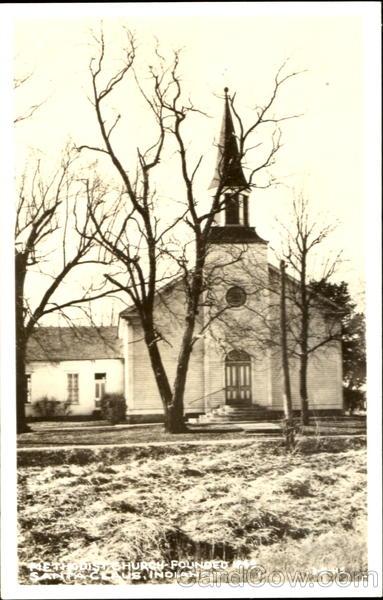 Methodist Church - Founded 1949 Santa Claus Indiana