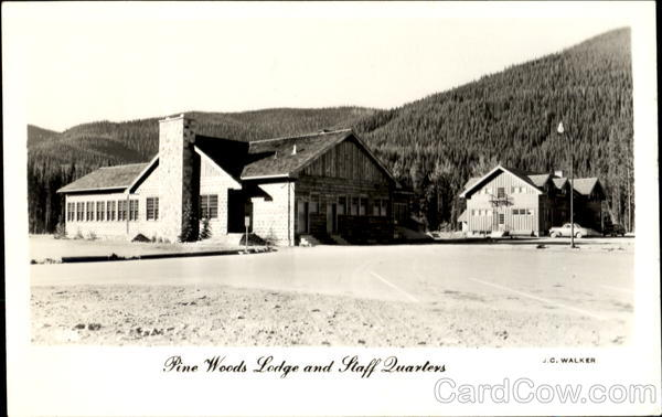 Pine Woods Lodge And Staff Quarters Manning Park Canada