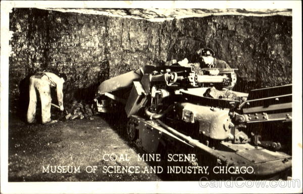 Coal Mine Scene Chicago Illinois