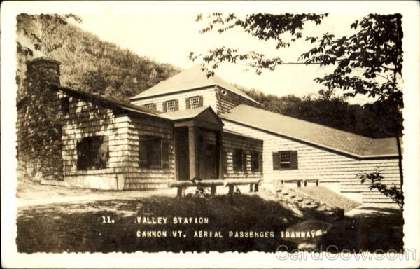 Valley Station, Cannon Mountain Franconia New Hampshire