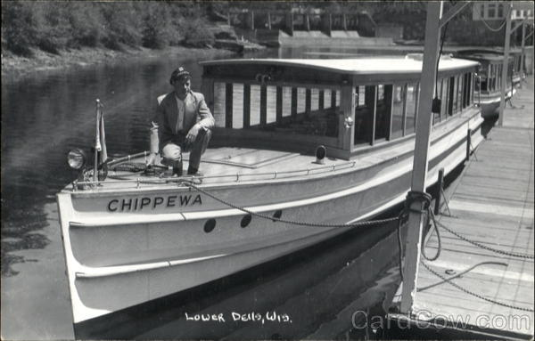 Chippewa Lower Dells, Wis. Boats, Ships