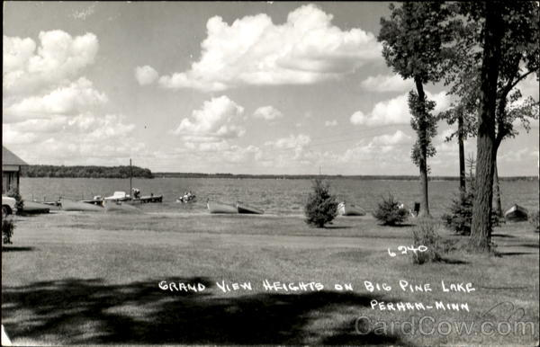 Grand View Heights On Big Pine Lake Perham Minnesota
