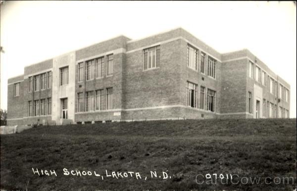 High School Lakota North Dakota