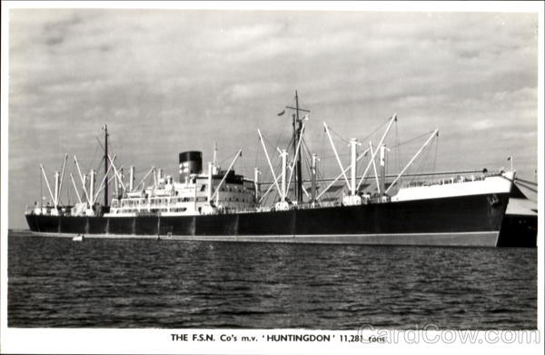 The F. S. N. Co's Huntingdon Boats, Ships