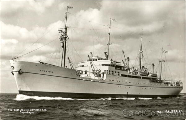 M. S. Falstria East Asiatic Boats, Ships