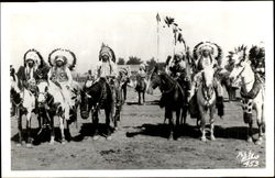 Indian Chiefs on Horseback