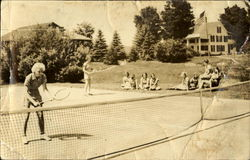 Tennis Camp Quinibeck for Girls Postcard