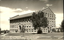 Lewis Hall, Mont. State College