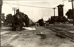 Union Station - No. 5 Pulling Out