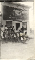 Group of  Men - Old West