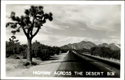 Highway Across The Desert