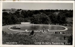 Girl Scout Camp Rotary Swimming Pool