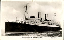 Canadian Pacific S. S. Duchess Of Atholl
